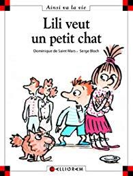 D. de St Mars / Serge Bloch – Lili veut un petit chat